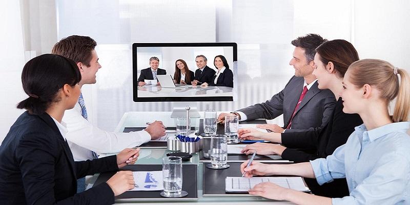 Equipamentos para reuniões por videoconferência